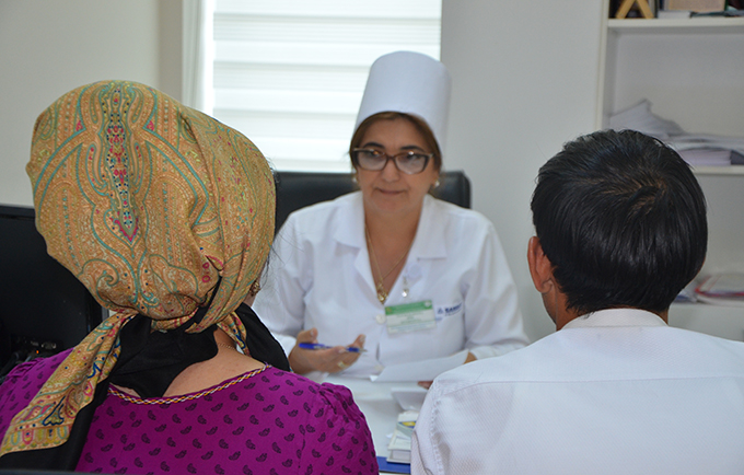 In Turkmenistan, a reproductive health campaign changes attitudes