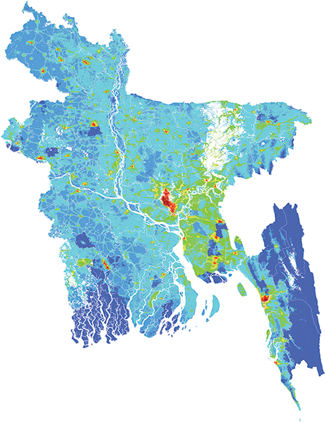 Bangladesh - Number and distribution of pregnancies (2012)