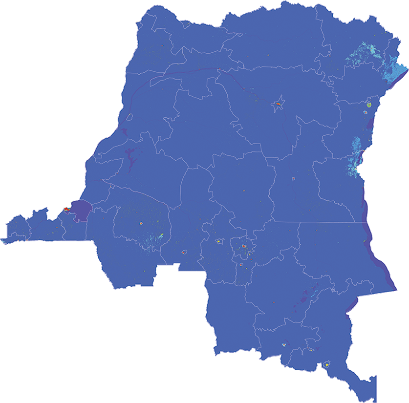Congo, the Democratic Republic of the - Number and distribution of pregnancies (2012)