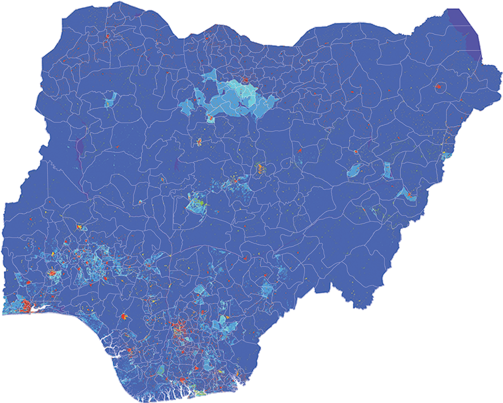 Nigeria - Number and distribution of pregnancies (2012)