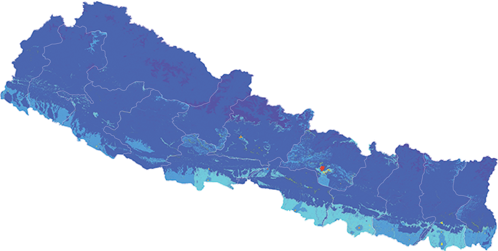 Nepal - Number and distribution of pregnancies (2012)
