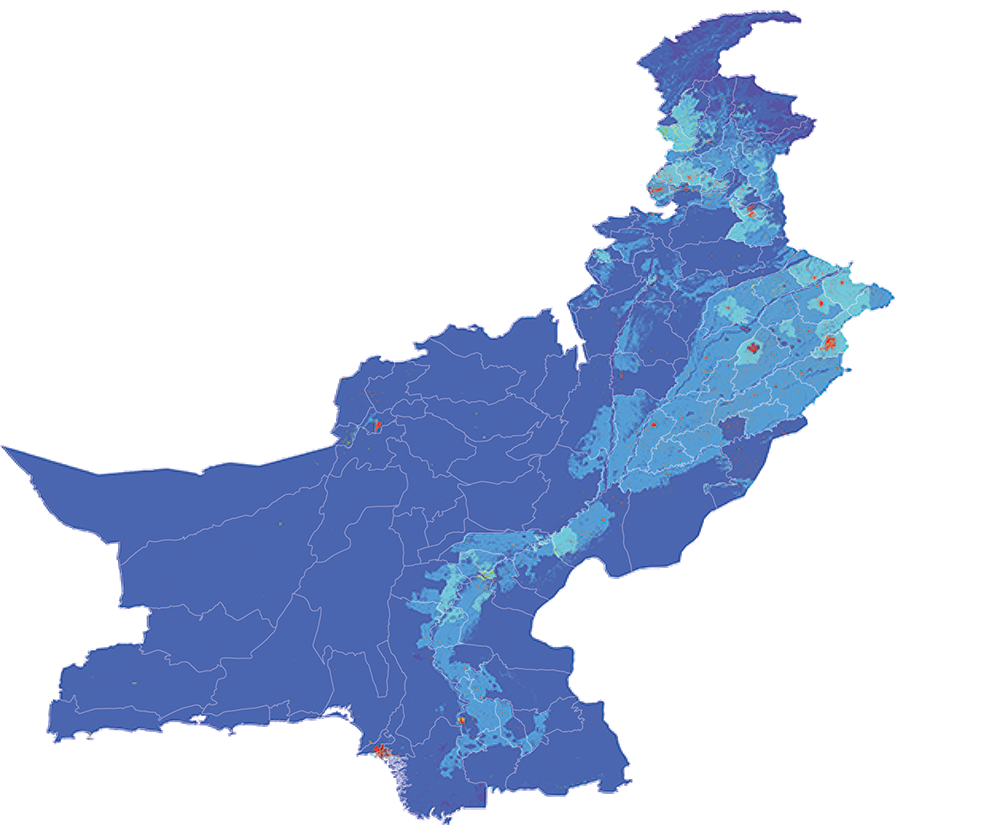 Pakistan - Number and distribution of pregnancies (2012)