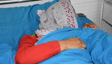 """Farah* recently received surgical treatment for obstetric fistula. She says she can now """"live a normal life."""" © UNFPA Afghanistan"""